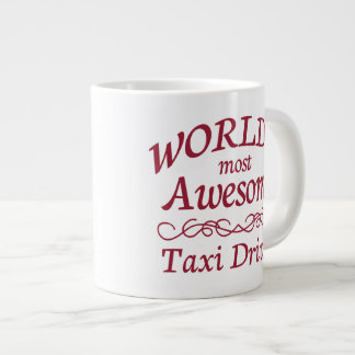 World's Most Awesome Taxi Driver Large Coffee Mug
