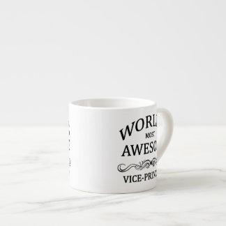 World's Most Awesome Vice-Principal Espresso Mug
