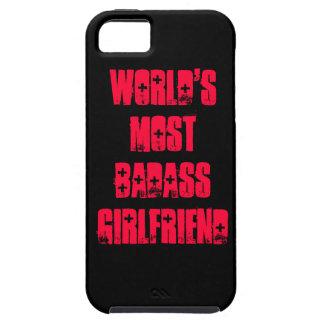 World's Most Badass Girlfriend iPhone 5 Cover