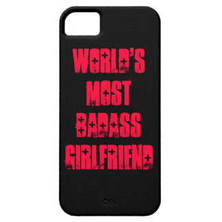 World's Most Badass Girlfriend iPhone 5 Covers
