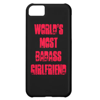World's Most Badass Girlfriend Cover For iPhone 5C