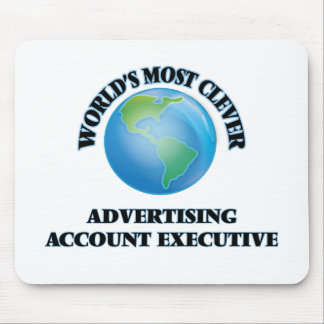World's Most Clever Advertising Account Executive Mouse Pads