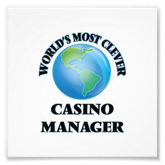 World's Most Clever Casino Manager Photograph