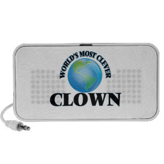 World's Most Clever Clown Mini Speakers