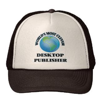 World's Most Clever Desktop Publisher Trucker Hat
