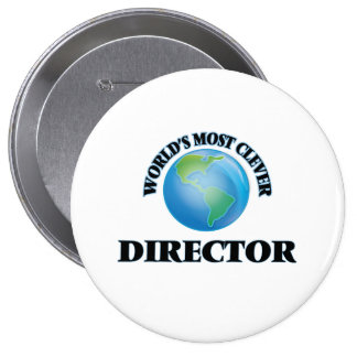 World's Most Clever Director Buttons