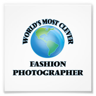 World's Most Clever Fashion Photographer Photographic Print