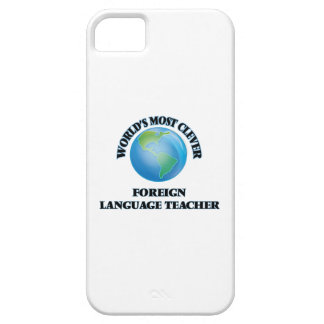 World's Most Clever Foreign Language Teacher iPhone 5 Cases