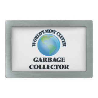 World's Most Clever Garbage Collector Belt Buckles