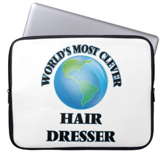 World's Most Clever Hair Dresser Laptop Sleeves