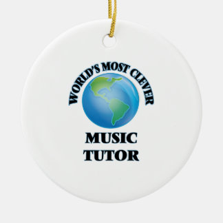 World's Most Clever Music Tutor Ornaments