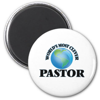 World's Most Clever Pastor Fridge Magnets