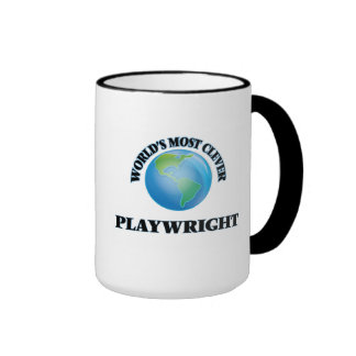 World's Most Clever Playwright Coffee Mugs