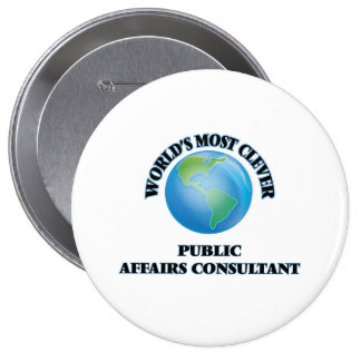 World's Most Clever Public Affairs Consultant Pins