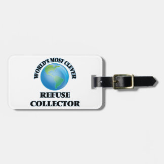 World's Most Clever Refuse Collector Travel Bag Tags