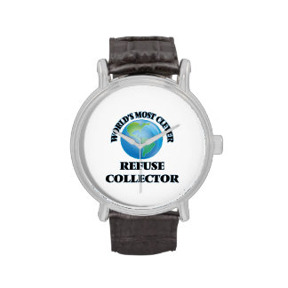World's Most Clever Refuse Collector Wristwatch
