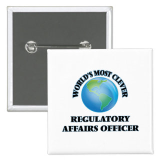 World's Most Clever Regulatory Affairs Officer Pins