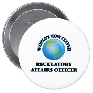 World's Most Clever Regulatory Affairs Officer Buttons
