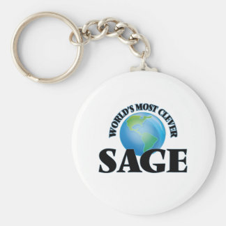 World's Most Clever Sage Keychain