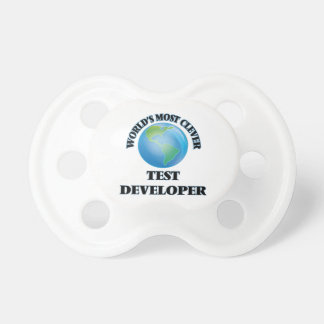 World's Most Clever Test Developer BooginHead Pacifier