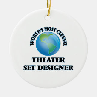 World's Most Clever Theater Set Designer Christmas Tree Ornament