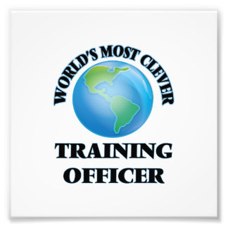 World's Most Clever Training Officer Photograph