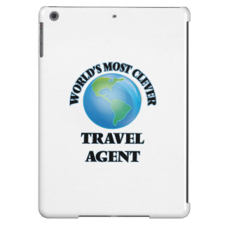 World's Most Clever Travel Agent iPad Air Case