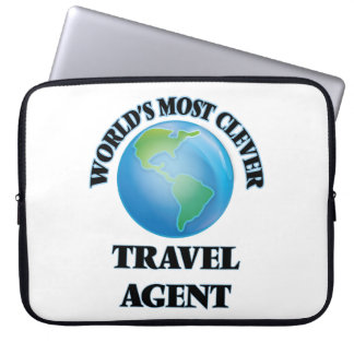 World's Most Clever Travel Agent Laptop Sleeve
