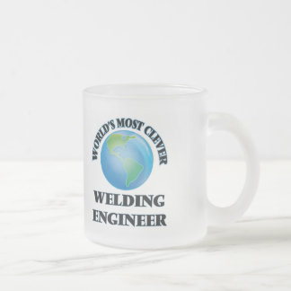World's Most Clever Welding Engineer Frosted Glass Mug