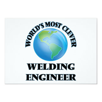 World's Most Clever Welding Engineer Card
