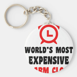 world's most expensive alarm clock keychain