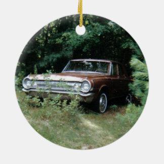 World's Most Haunted Car - The Goldeneagle - 1964 Ceramic Ornament