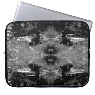 World's Most Haunted Car - The Goldeneagle - 1964 Laptop Sleeve