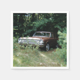 World's Most Haunted Car - The Goldeneagle - 1964 Paper Napkin