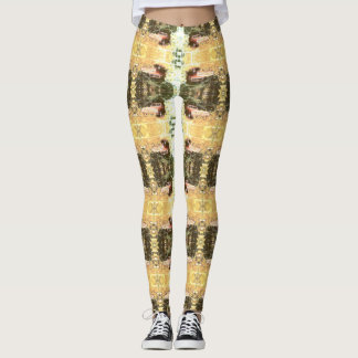 Worlds Most Haunted Car - The Goldeneagle Leggings