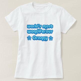 Worlds Most Wondiferous Granny T Shirt