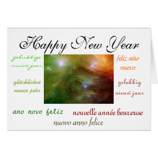 World's New Year Greeting Cards