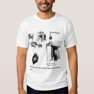 Worlds of art t shirt