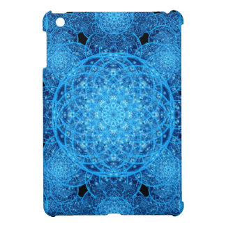 Worlds of Ice Mandala iPad Mini Covers