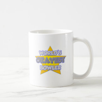 World's Okayest Bowler .. Joke Coffee Mug