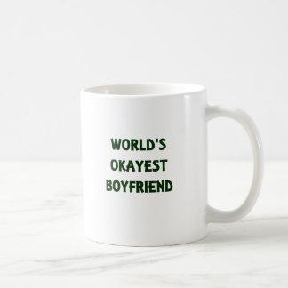 World's Okayest Boyfriend Coffee Mug