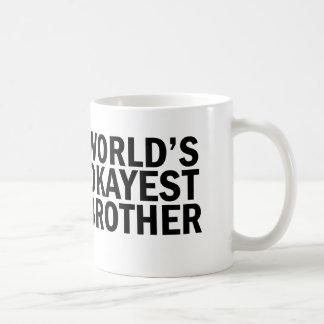 World's Okayest Brother Coffee Mug