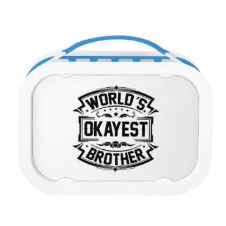 World's Okayest Brother Lunch Box
