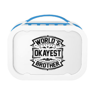 World's Okayest Brother Lunch Boxes