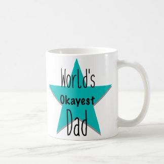 World's Okayest Dad Lefty Mug