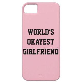 WORLD'S OKAYEST GIRLFRIEND CASE