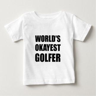 World's Okayest Golfer Baby T-Shirt