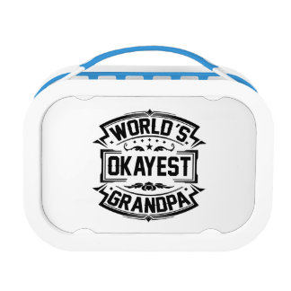 World's Okayest Grandpa Lunch Box
