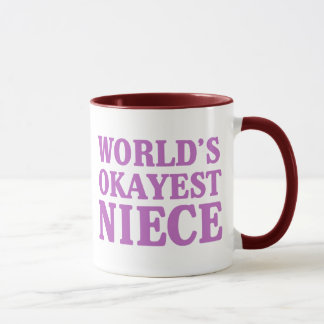 World's Okayest Niece Mug