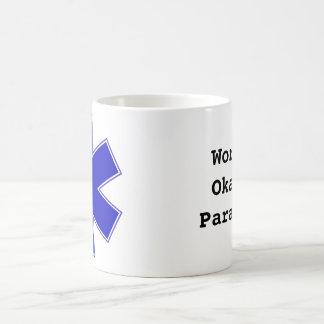 World's Okayest Paramedic Basic White Mug